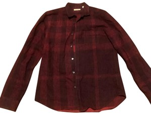 Burberry Burberry Fred Bright Opal red Nova Check Cotton Long Sleeve Shirt