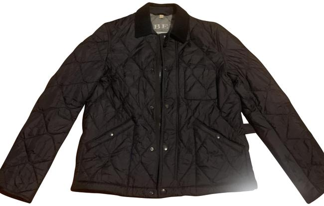Item - Black Quilted Men's Jacket Size 10 (M)