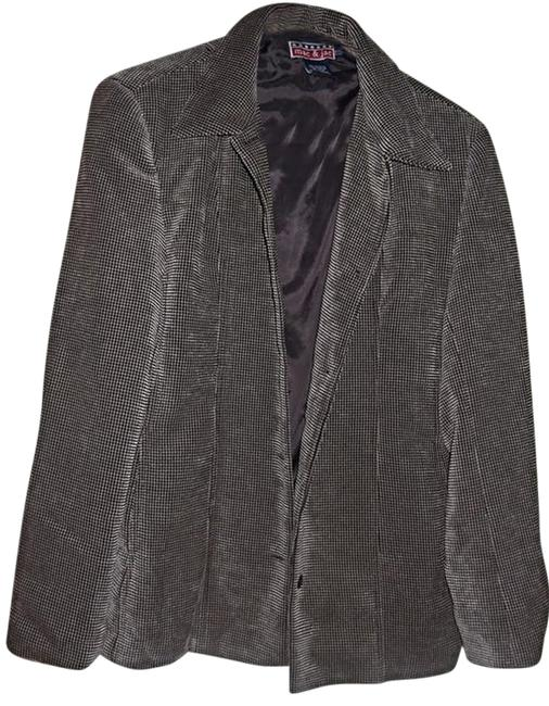 Preload https://item3.tradesy.com/images/mac-and-jac-checked-button-front-brown-blazer-2707852-0-0.jpg?width=400&height=650