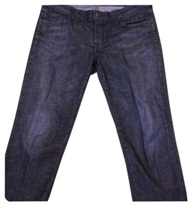 Citizens of Humanity Wimbledon Cropped Kelly 31 Boot Cut Jeans-Dark Rinse