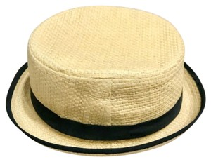 Pull&Bear Belted Woven Straw Round Fedora Hat