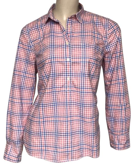 Item - Pink Checked Tunic Size 8 (M)