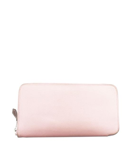 Item - Pink Silk'in Leather Zippered (168897) Wallet