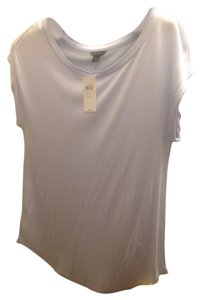 Ann Taylor T Shirt Light Blue