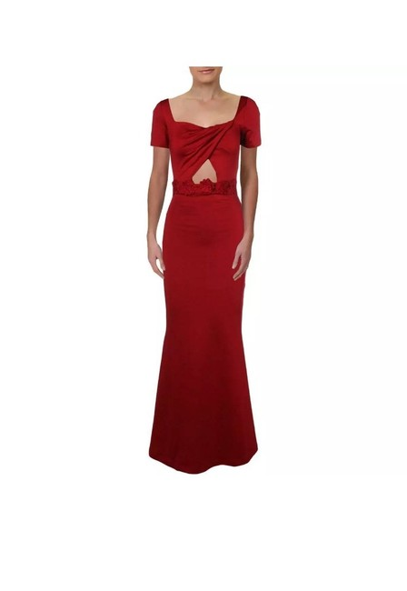 Item - Red Gown Long Night Out Dress Size 8 (M)
