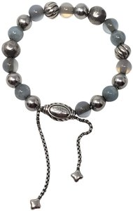 David Yurman Sterling silver David Yurman Spiritual Elements bead bracelet