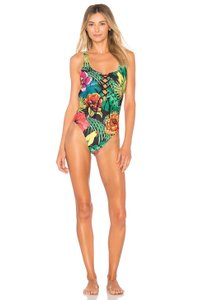 Agua Bendita Printed One Piece