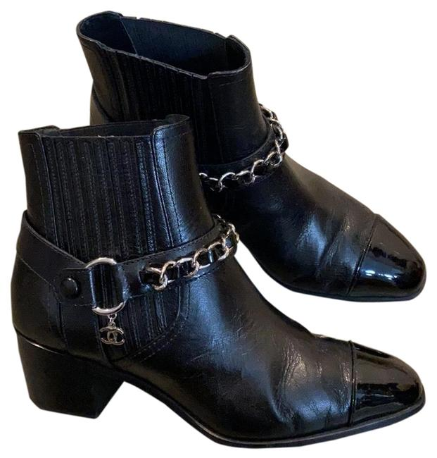Item - Cap with Chain Boots/Booties Size US 6.5 Narrow (Aa, N)