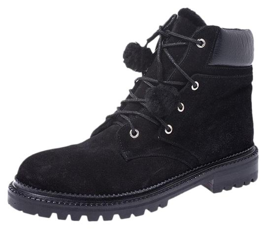 Preload https://img-static.tradesy.com/item/27081551/jimmy-choo-black-suede-lace-up-ankle-bootsbooties-size-us-9-regular-m-b-0-1-540-540.jpg