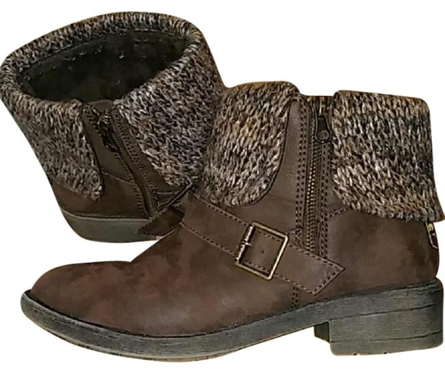 Rocket Dog Brown Folded Cuff Boots/Booties Size US 9 Regular (M, B) Rocket Dog Brown Folded Cuff Boots/Booties Size US 9 Regular (M, B) Image 1