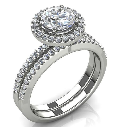 Preload https://img-static.tradesy.com/item/27081732/white-225-ct-round-halo-and-band-engagement-ring-0-0-540-540.jpg