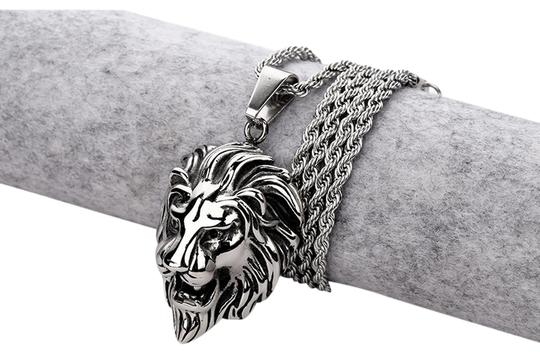 Preload https://img-static.tradesy.com/item/27081791/rasta-lion-pendant-with-chain-necklace-0-1-540-540.jpg