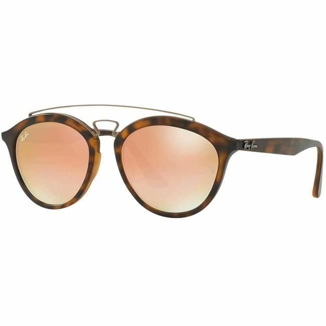 Ray-Ban Tortoise Frame & Copper Gradient Mirrored Lens Rb4257f 6267b9 Unisex Round Sunglasses Ray-Ban Tortoise Frame & Copper Gradient Mirrored Lens Rb4257f 6267b9 Unisex Round Sunglasses Image 1