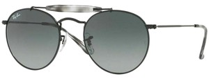 Ray-Ban Grey Gradient Lens RB3747 153/71 Unisex Round