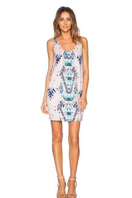 Preload https://img-static.tradesy.com/item/27082070/mara-hoffman-tribal-print-shift-short-cocktail-dress-size-2-xs-0-1-650-650.jpg