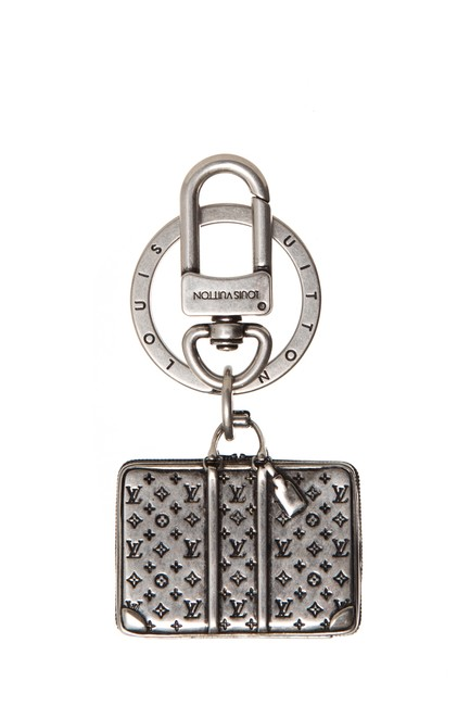 Louis Vuitton Silver Sirius The Bag Charm Keychain Louis Vuitton Silver Sirius The Bag Charm Keychain Image 1