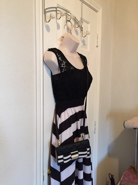 Black And White Maxi Dress by Other