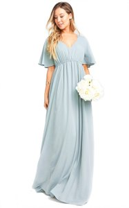 Show Me Your Mumu Polyester Emily Empire Modern Bridesmaid/Mob Dress Size 8 (M)