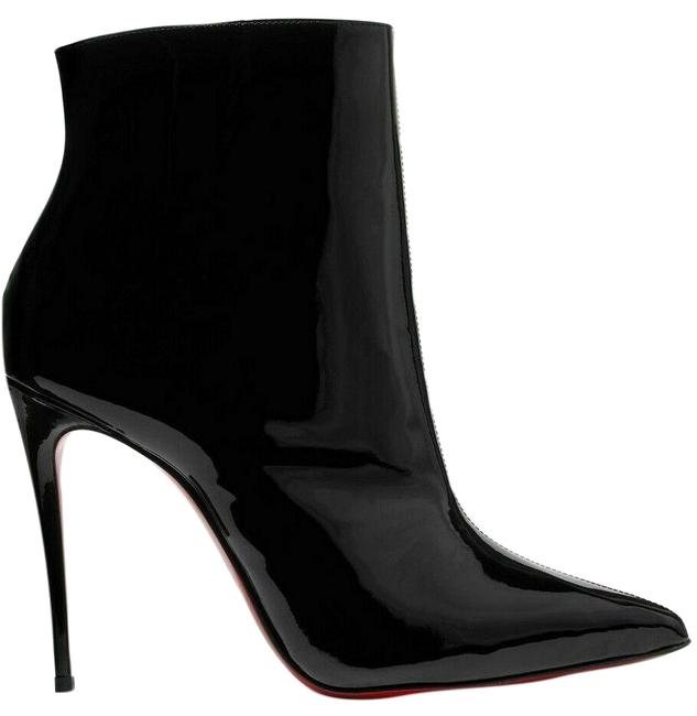Christian Louboutin Black New So Kate Patent Leather Boots/Booties Size EU 39 (Approx. US 9) Regular (M, B) Christian Louboutin Black New So Kate Patent Leather Boots/Booties Size EU 39 (Approx. US 9) Regular (M, B) Image 1