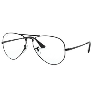 Ray-Ban Ray Ban Aviator Black Metal Frame RX6489