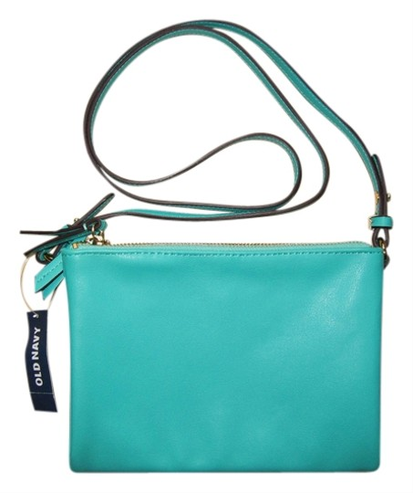 Old Navy Turquoise Green Cross Body Bag