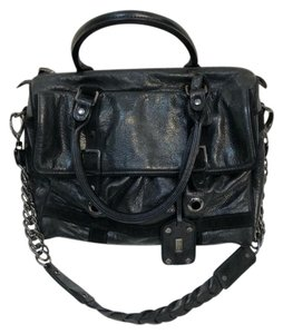 Be&D Classic Leather Suede Shoulder Bag