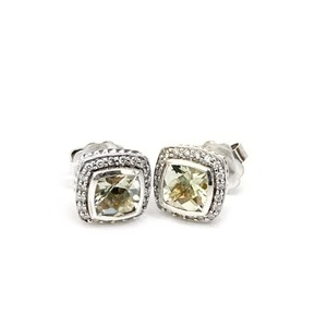 David Yurman BEAUTIFUL!! LIKE NEW!! David Yurman Albion Prasiolite Earrings