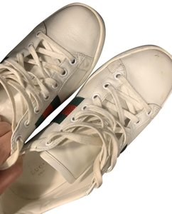 Gucci White Red & Green Athletic