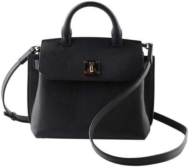 Item - Crossbody Milla Park Avenue Small Black Leather Satchel