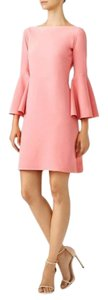 La Petite Robe di Chiara Boni Bell Sleeve Stretch V-neck Dress