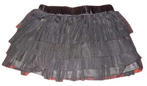 Forever 21 Tulle Mini Skirt Black