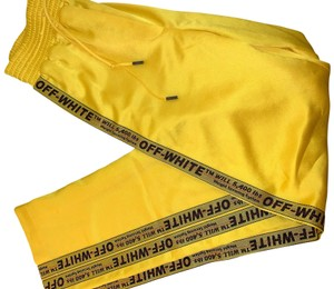 Off-White™ Athletic Pants yellow