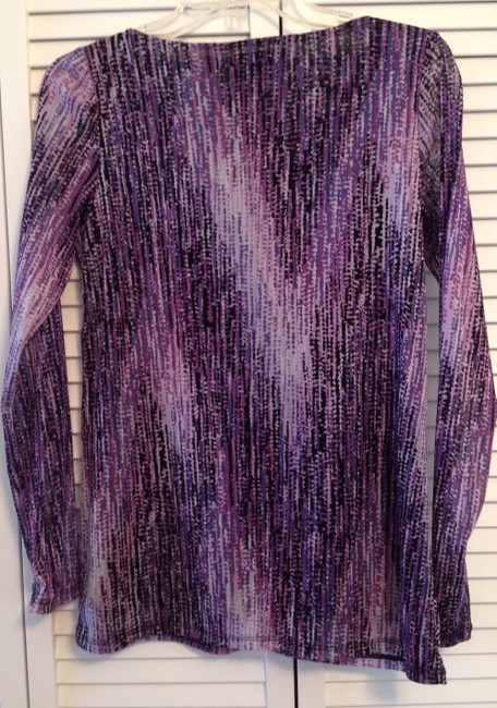 Axcess Lined Top Purple, pink, black, grey, white