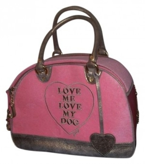 Preload https://item2.tradesy.com/images/juicy-couture-pink-pet-carrier-27086-0-0.jpg?width=440&height=440
