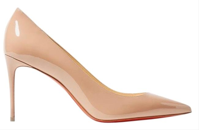 Christian Louboutin Kate 85 Patent Leather Heels Pumps Size EU 39 (Approx. US 9) Regular (M, B) Christian Louboutin Kate 85 Patent Leather Heels Pumps Size EU 39 (Approx. US 9) Regular (M, B) Image 1