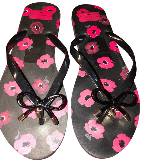 Preload https://img-static.tradesy.com/item/27086451/kate-spade-black-and-ref-floral-print-flats-sandals-size-us-10-regular-m-b-0-1-540-540.jpg