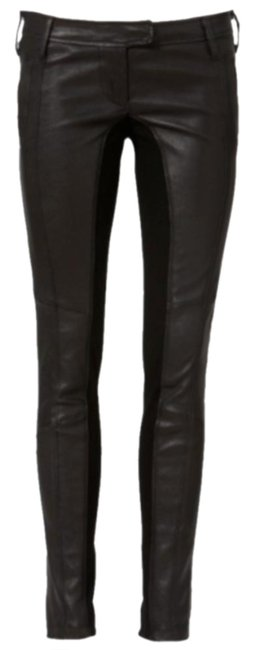 Preload https://img-static.tradesy.com/item/27086491/sass-and-bide-black-sculpted-leather-pants-size-petite-6-s-0-3-650-650.jpg