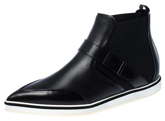 Preload https://img-static.tradesy.com/item/27086609/nicholas-kirkwood-black-leather-and-stretch-fabric-pointed-bootsbooties-size-us-95-regular-m-b-0-1-540-540.jpg