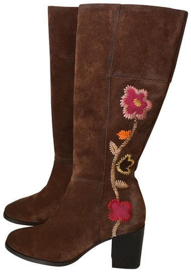 Preload https://img-static.tradesy.com/item/27086891/frye-brown-multicolor-suede-floral-embroidery-bootsbooties-size-us-65-regular-m-b-0-1-540-540.jpg