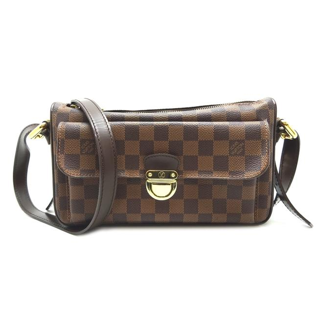 Louis Vuitton Ravello Gm Ladies N60006 Evenu Dh56096 Brown / Ebene / Ebene Damier Canvas Shoulder Bag Louis Vuitton Ravello Gm Ladies N60006 Evenu Dh56096 Brown / Ebene / Ebene Damier Canvas Shoulder Bag Image 1