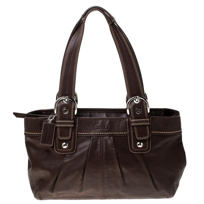 Coach Soho Brown Leather Tote Coach Soho Brown Leather Tote Image 1