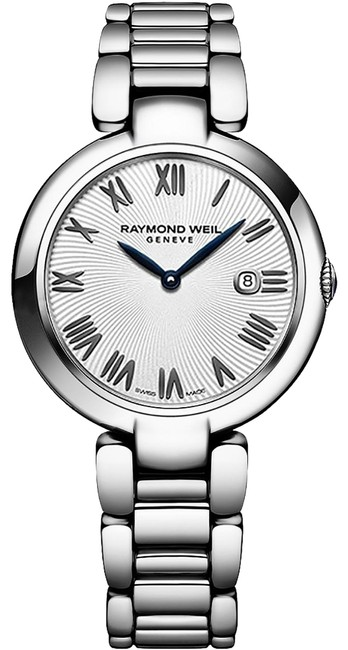 Raymond Weil Silver Ladies' Shine 1600-st-00659 Stainless Steel 32mm Quartz Watch Raymond Weil Silver Ladies' Shine 1600-st-00659 Stainless Steel 32mm Quartz Watch Image 1
