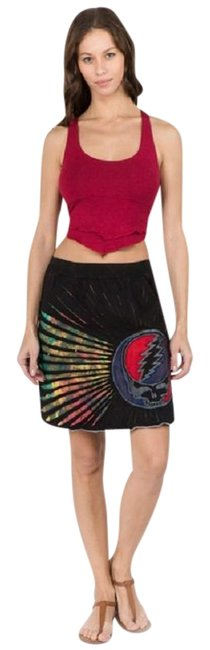 Preload https://img-static.tradesy.com/item/27087224/black-grateful-dead-razor-cut-with-attached-pocket-and-syf-skirt-size-4-s-27-0-1-650-650.jpg