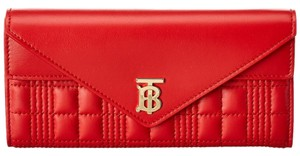 Burberry Burberry Monogram Quilted Leather Continental Wallet