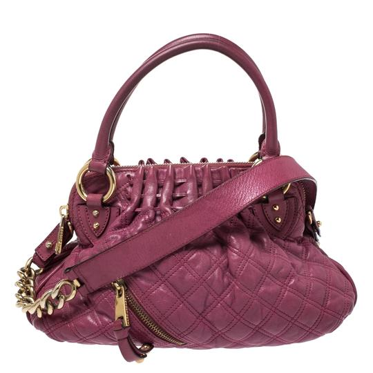 Preload https://img-static.tradesy.com/item/27087473/marc-jacobs-quilted-cecilia-pink-leather-satchel-0-0-540-540.jpg