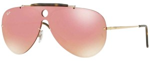 Ray-Ban Pink Mirrored Lens RB3581N 001/E4 32 Unisex Aviator
