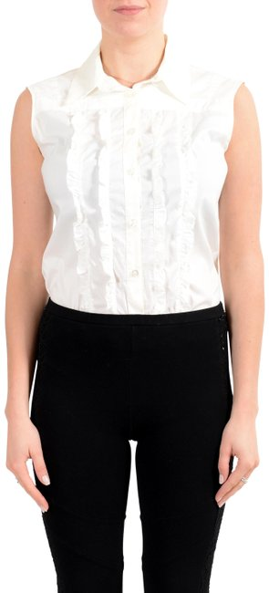 Preload https://img-static.tradesy.com/item/27087547/costume-national-white-v-14765-button-down-top-size-8-m-0-1-650-650.jpg
