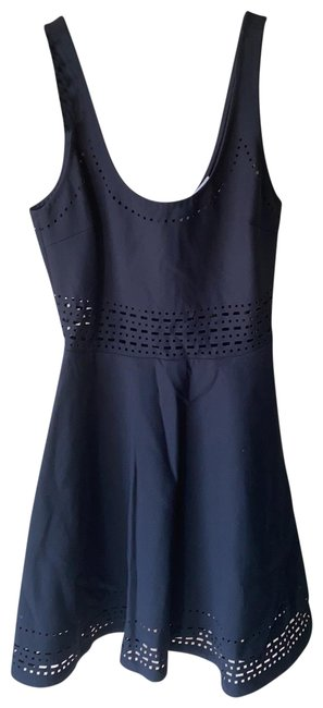 Elizabeth and James Navy Short Casual Dress Size 4 (S) Elizabeth and James Navy Short Casual Dress Size 4 (S) Image 1
