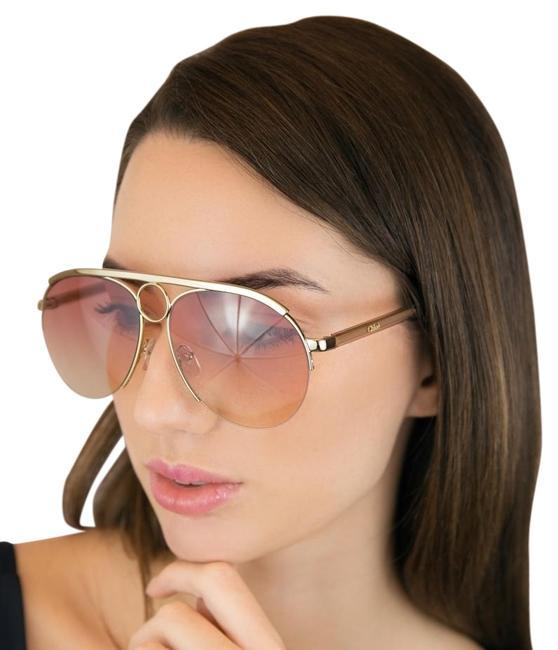 Item - Rose Gold Ce152s - 841 Aviator Romie Sunglasses