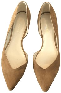 Marc Fisher Ballet Work Brown Casual Carmel Flats